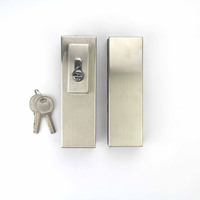 Stainless Steel 304 Frameless Glass Door Lock without Handle for Glass Door