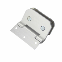 Glass To Wall Aluminum Alloy Shower Glass Door Hinge