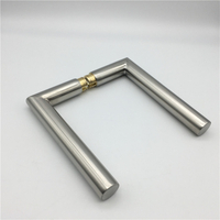 Stainless Steel Hollow Tube Lever Door Handle