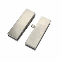 Door Hardware Stainless Steel Door Patch Fitting for Glass Door
