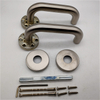 High Quality Internal Door 304 Stainless Steel Tube Lever Type Door Handles