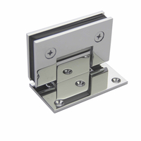 Brass Or Stainless Steel Shower 180 Degree Gate Hydraulic Glass Door Hinge