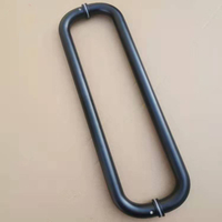 Stainless Steel Pull Handle for Wood Door And Glass Door