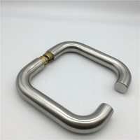 Stainless Steel Door HardwareTubular Lever Door Pull Handle without rose